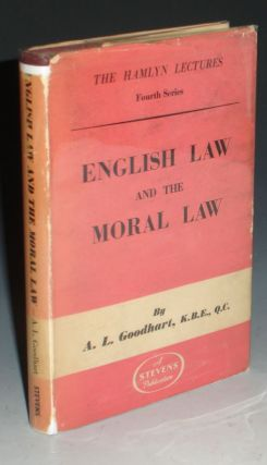 English Law and the Moral Law. A. L. Goodhart