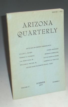 The Arizona Quarterly (Summer 1977