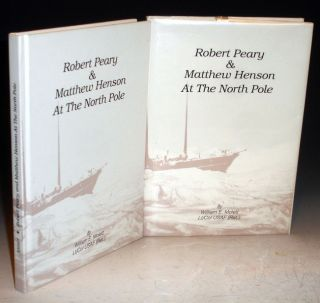Robert Peary and Matthew Henson at the North Pole. William Mollett.
