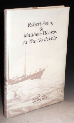 Robert Peary and Matthew Henson at the North Pole