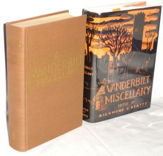 Vanderbilt Miscellany 1919-1944. Richmond Croom Beatty