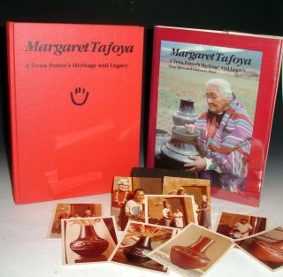 Margaret Tafoya; a Tewa Potter's Heritage and Legacy. Mary Ellen and Laurence Blair.