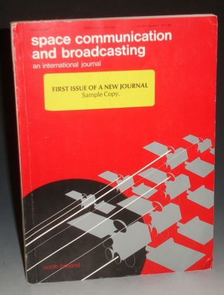 Space Communication and Broadcasting, Vol. 1:1 (1983