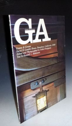 GA 66 (Global Architecture) Greene & Greene, David B. Gable House, Pasadena. Yukio Futagawa,...