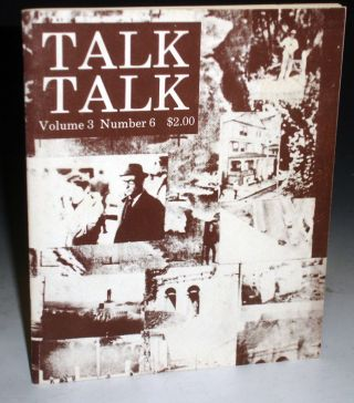Talk Talk (Volume 3, Number 6) with sound Recording. William S. Burroughs