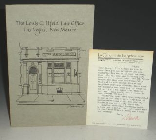 Los Artesanos Bookstore) Louis C. Ilfeld Law Office, Las Vegas, New Mexico