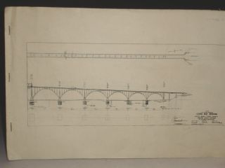 COOS BAY BRIDGE--Architectural Drawings