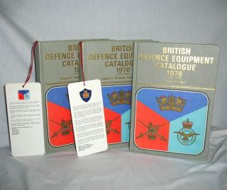 British Defence Equipment Catalogue (3 Volume set