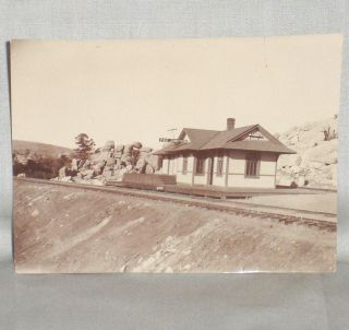 P & E (Prescott and Eastern) Junction, Original Photograph