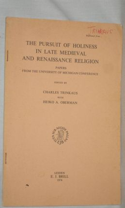 """The Religious Thought of the Italian Humanists and the Reformers: Anticipation or Autonomy?;..."