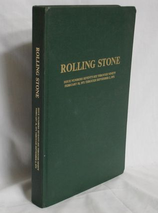 Rolling Stone (Feb. 18, 1971-Sept 2, 1971) Bound Issue with Jack Nicholson, Keith Richards, and...