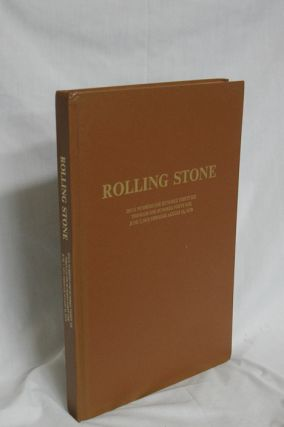 Rolling Stone (June 7, 1973-August 16, 1973) with articles By Hunter S. Thompson, Norman Mailer...