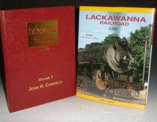 Lackawanna Railroad: In Color, Vol. 3 (The Transition Years, 1946-1960). John R. Canfield