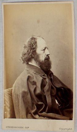 Photograph] Alfred Lord Tennyson (1809-1892) , carte De Viste