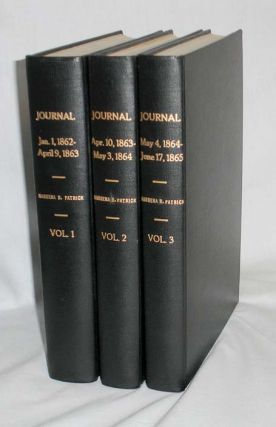 Journal, Jan. 1-1862-June 17, 1865 (3 Vol set). Mesena R. Patrick, Rudolph
