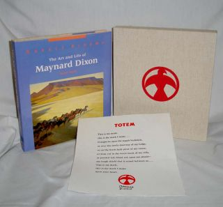 Desert Dreams; the Art and Life of Maynard Dixon (signed By the author in a Limited edition)....