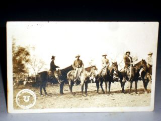 Photograph Postcard of Flying U Ranch of Sam E. McKnight, Ca 192-?