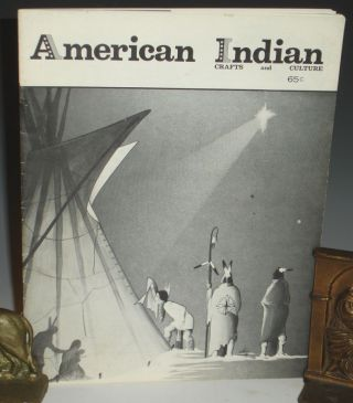 American Indian Crafts and Culture, December 1972