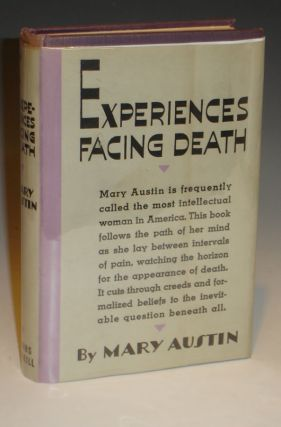 Experiences Facing Death (Inscribed to Frederci Webb Hodge and His Wife, Noting Their Views of...