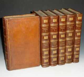 The Miscellaneous Works of Tobias Smollett, M.D (6 Volume Set and extra-illustrated).