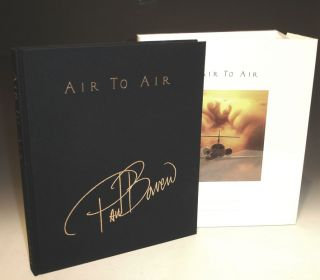 Air to Air, Volume I, Signed By Arnold Palmer and Nicely Inscribed By Paul Bowen to Joyce Carter