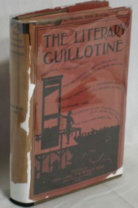 The Literary Guillotine. The Bench: Twain, Mark, Oliver Herford and C.B. Loomis]. William Wallace...