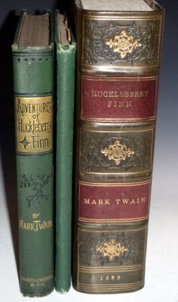 Adventures of Huckleberry Finn Together with the Rare Publisher's Salesman's Sample