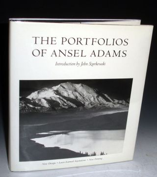 The Portfolios of Ansel Adams (signed By Adams). Ansel Adams