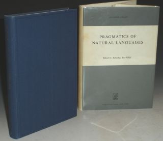 Progmatics of Natural Languages. Yehoshua Bar-Hillel