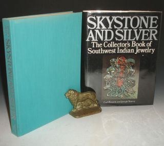 Skystone and Silver, the Collector's Books of Southwest Indian Jewelry. Carl Rosnek, Joseph Stacey