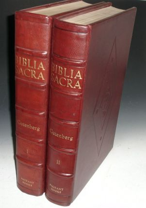 Biblia Sacra. A Facsimile of the Gutenberg Bible.]
