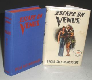 Escape on Venus. Edgar Rice Burroughs.