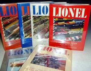 A Collector's Guide and History to Lionel Trains (6 volumes)