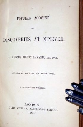 A Popular Account of Discoveries at Nineveh (abridged)