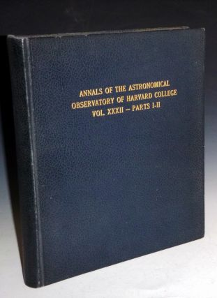 Annals of the Astronomical Observatory of Harvard College. William H. And Edward C. Pickering...