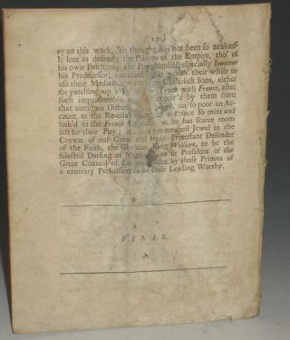Animadversions on King James His Letter to the Pope;: Published in the Tryal of the Ld. Preston & Mr. Ashton