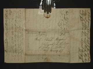 Pre-Conversion Letter By Brigham Young's (Twice-over) Future Father-in-Law