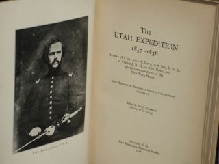 The Utah Expedition, 1857-1858; Letters of