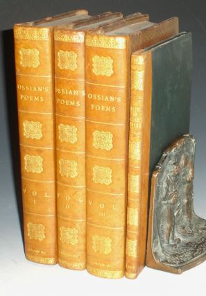 The Poems of Ossian in the Original Gaelic; 4 Vol Set with Archibald MacNeill's Notes on the...