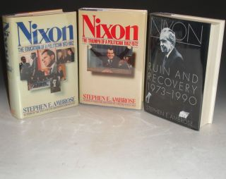 Nixon (3 volume set); Vol. I: The Education of a Politican, 1913-1962; Vol. 2: The Triumph of a...