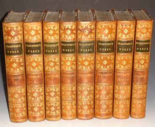 The Comedies, Histories, Tragedies, and Poems of W. Shakspere, National Edition, (8 Volume Set). William Shakespeare, Charles Knight, Thomas Abiel Prior.