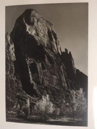 My Camera in the National Parks; 30 Photographs with Interpreative Text and Informative Material on the Parks and Monuments and Photographic Data (Signed By Ansel Adams)