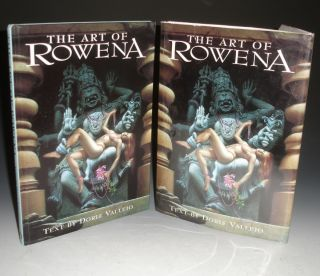 The Art of Rowena (Signed By Her). Doris Vallejo, Rowena Morrill