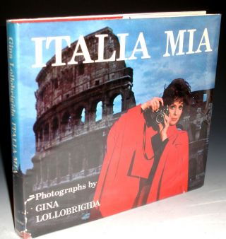 Italia Mia (signed By her), Foreword By Alberto Moravia