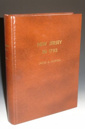 New Jersey in 1793. James S. Norton.