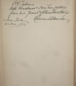History of the North American Young Men's Christian Associations (Inscribed By Him to Fellow Leader, O.E. Tyler)
