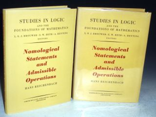 Nomological Statements and Admissible Operations (Studies in Logic and the Foundations of...