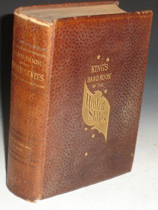King's Handbook of the United States. M. F. Sweetser, Moses King