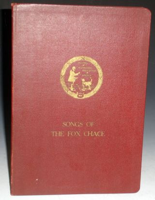 Songs of the Fox Chace. William H. Barr