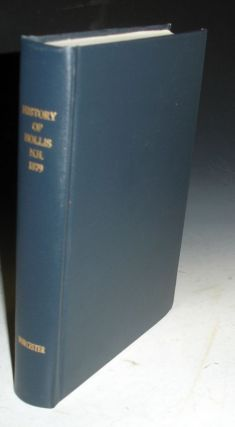 History of the Town of Hollis, New Hampshire, from its first settlement to the year 1879 :....